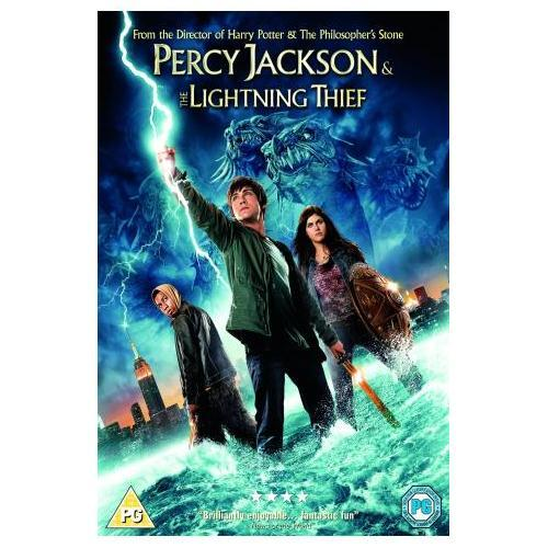 Percy Jackson And The Lightning Thief With Digital Copy