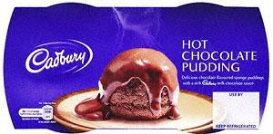 Cadbury Hot Chocolate Pudding (2 x 120g) £1 @ Tesco - From tomorrow ...