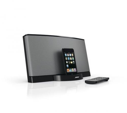 bose sounddock ii ipod docking station black or silver. Black Bedroom Furniture Sets. Home Design Ideas