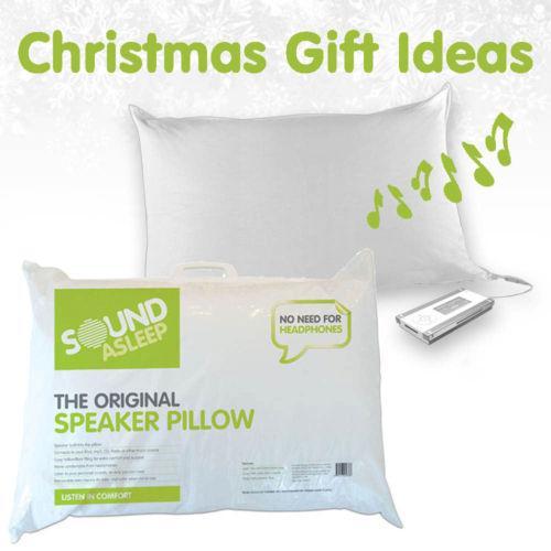 Sound asleep original speaker pillow listen to music or for Music speaker pillow