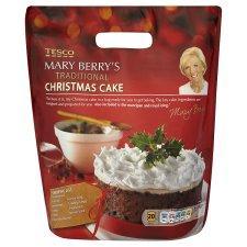 Tesco Mary Berrys Trad Xmas Cake Mix £3 Incs Marzipan ...