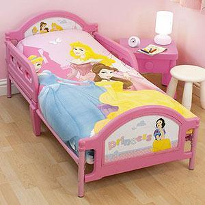 Disney princess, Fireman sam and cars 2 toddler beds £59 ...