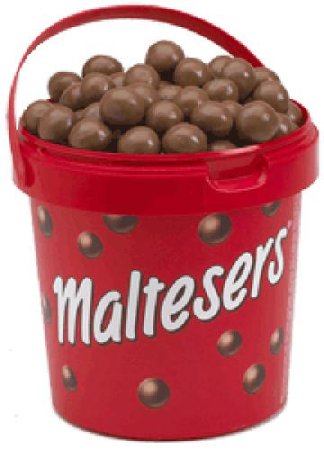 Maltesers Bucket 440g 3 quid INSTORE @ tesco - HotUKDeals