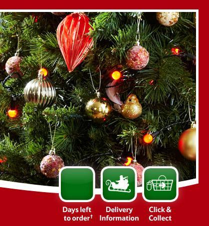 Tesco christmas decorations now half price hotukdeals for Christmas decoration deals