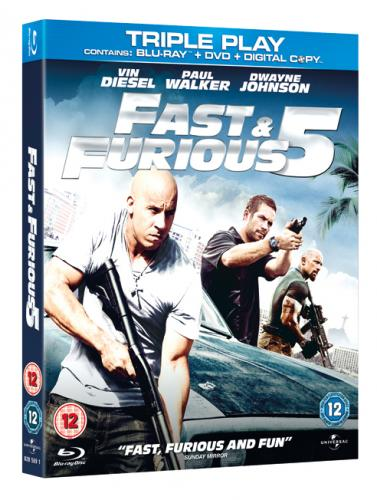 fast and furious 5 blu ray free del blockbusters hotukdeals. Black Bedroom Furniture Sets. Home Design Ideas