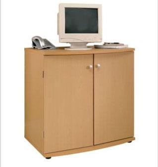 beech effect hide away computer desk 1 2 price argos. Black Bedroom Furniture Sets. Home Design Ideas