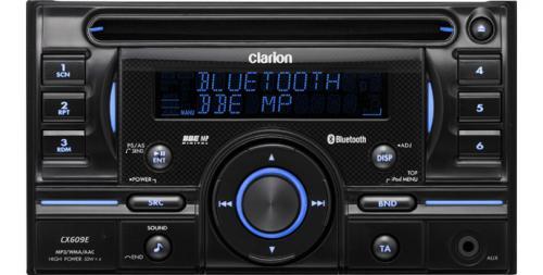 Clarion Car Stereo: Clarion CX609E Double DIN CD/MP3/USB/iPOD/Bluetooth Car