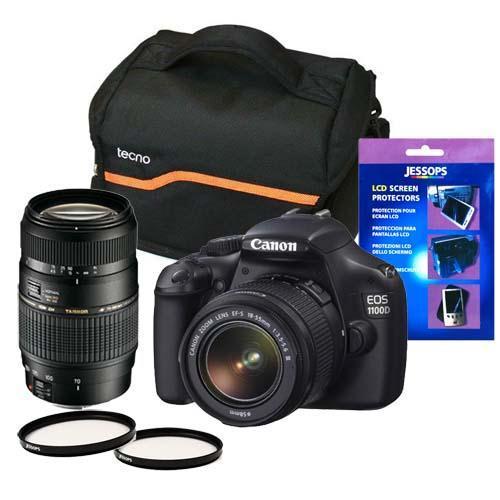 Canon EOS 1100D DSLR Mega Bundle Jessops
