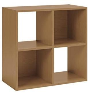 squares 4 cube unit oak effect argos delivered. Black Bedroom Furniture Sets. Home Design Ideas