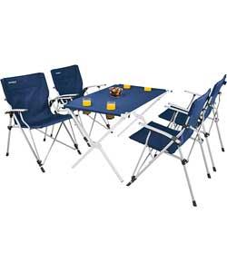 vacanza by outwell deluxe camping table and chairs set. Black Bedroom Furniture Sets. Home Design Ideas