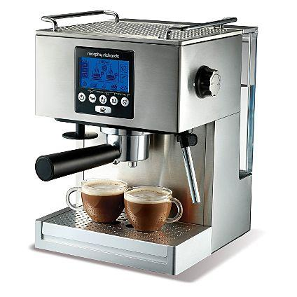 Coffee Makers From Asda : Morphy Richards 47020 Mattino Stainless Steel Espresso Coffee Maker reduced from ?149 to ?50 ...
