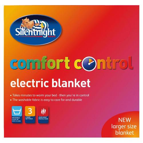silent night comfort control electric blanket king size 6. Black Bedroom Furniture Sets. Home Design Ideas