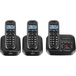 bt studio 5500tr digital cordless telephone with 3 handsets comet for hotukdeals. Black Bedroom Furniture Sets. Home Design Ideas
