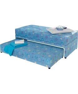 Forty winks dexter divan and trundle single bed 738 6514 single bed with spare slide out Argos single divan beds