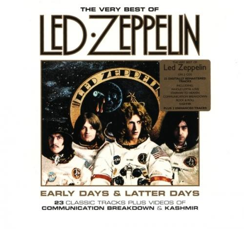led zeppelin early days and latter days the very best of led zeppelin 2cd just. Black Bedroom Furniture Sets. Home Design Ideas