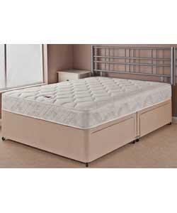 Airsprung ripley memory small double divan bed was argos hotukdeals Argos single divan beds