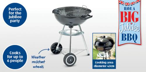 kettle bbq 43cm diameter aldi from 3rd june hotukdeals. Black Bedroom Furniture Sets. Home Design Ideas