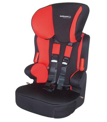essentials traffic sp car seat black red with. Black Bedroom Furniture Sets. Home Design Ideas