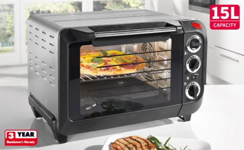 15 litre electric oven with grill lidl. Black Bedroom Furniture Sets. Home Design Ideas
