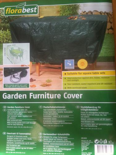 Garden furniture cover at lidl hotukdeals for Garden furniture deals