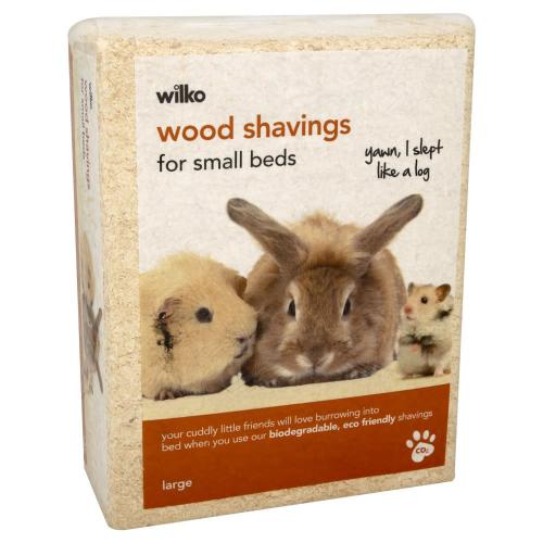 Wilko pet bedding wood shavings large pack £