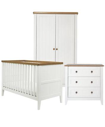 Mothercare Summer Oak 3 Piece Nursery Furniture Set Was 1100 Now 550 Minus 20 Off Using Code
