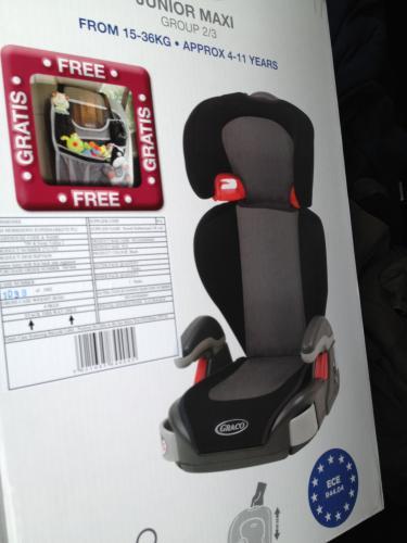 Morrisons Baby Car Seat