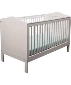 argos salisbury nursery cot bed white. Black Bedroom Furniture Sets. Home Design Ideas