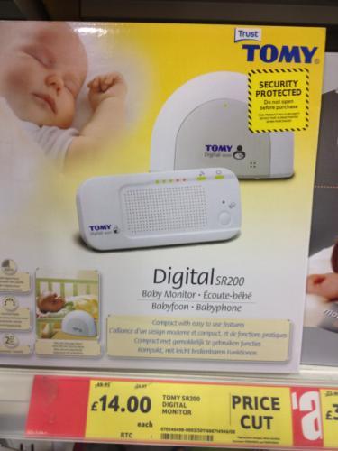 Baby monitor deals tesco