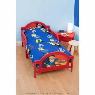 Fireman Sam Toddler Bed BampM GBP2999