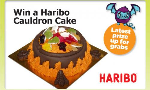 Win a halloween cake ends on 5th so get this entered ...