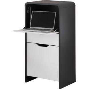 hygena meteor hideaway laptop desk for del. Black Bedroom Furniture Sets. Home Design Ideas