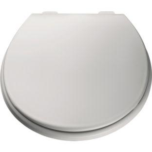 argos value range plastic toilet seat white. Black Bedroom Furniture Sets. Home Design Ideas