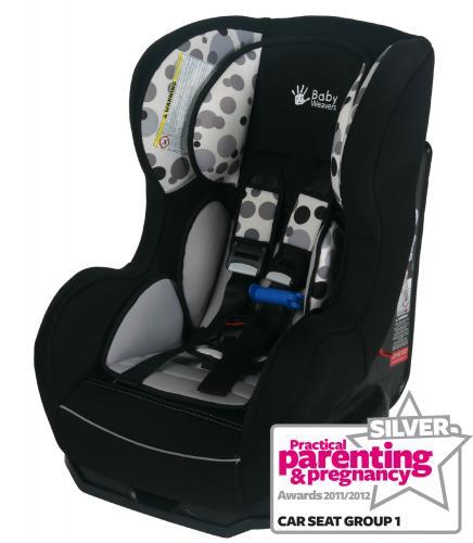 Baby Weavers Shuffle Sp Car Seat Orbit Black Grey 163 42 75