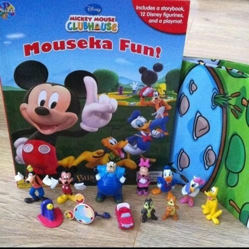Disney Mickey Mouse Clubhouse Mouseka Fun My Busy Book