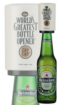 zap cap bottle opener by cellardine delivered using voucher 10 tcb. Black Bedroom Furniture Sets. Home Design Ideas