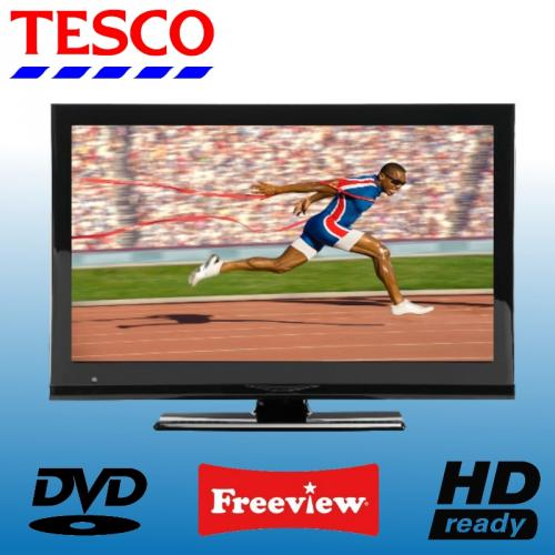 tesco 22 229 22 inch hd ready flat screen lcd tv dvd combi with freeview and usb playback 97. Black Bedroom Furniture Sets. Home Design Ideas