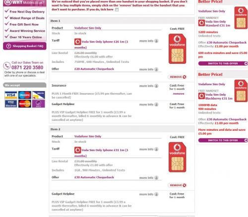 Vodafone freedom freebies login