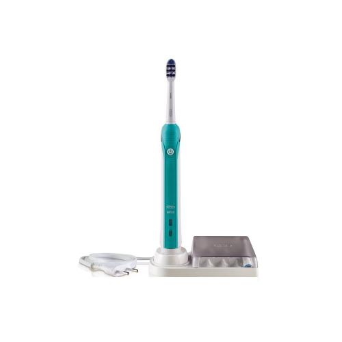 Electric toothbrushes, sometimes called power toothbrushes, use thousands more brush strokes per minute when compared to a manual toothbrush. In addition to the high number of brush strokes, there are many more reasons to use one. They can make it easier to be gentle.