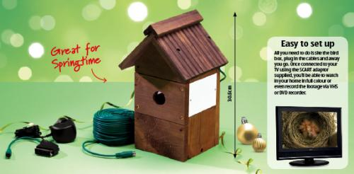 camera nest box from 20 12 12 aldi hotukdeals. Black Bedroom Furniture Sets. Home Design Ideas