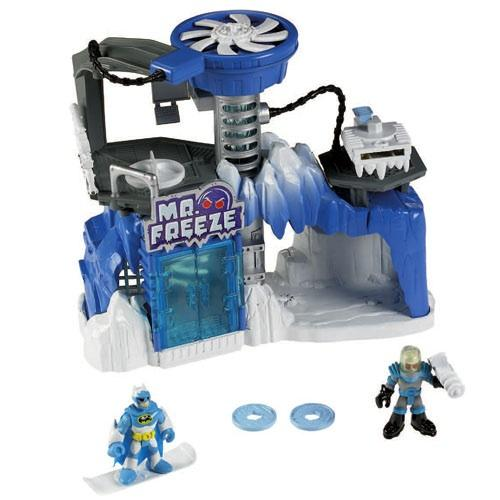 Mr Snowman On Christmas Is Getting Cold Coloring Page: Fisher-Price Imaginext Mr Freeze Headquarters £24.99