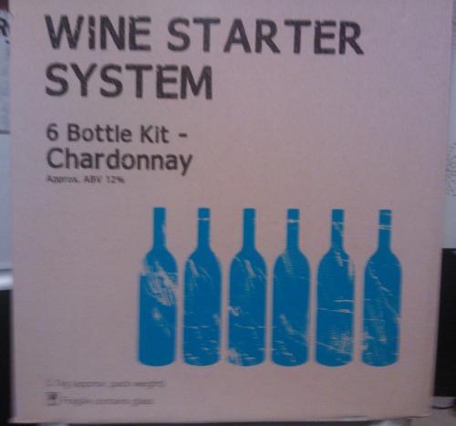 wine starter system chardonnay brew your own beer. Black Bedroom Furniture Sets. Home Design Ideas