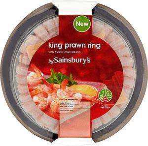 Tesco King Prawn Ring