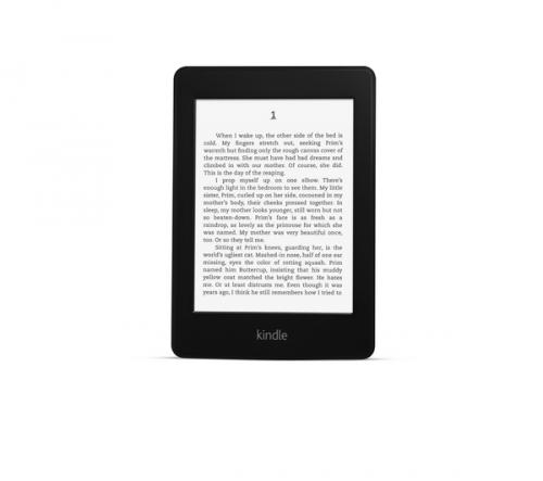Kindle Paperwhite Amazon's Kindle Paperwhite is the advanced version of the standard Kindle - with an inbuilt light, for reading in the dark. The Paperwhite's battery life is also pretty.