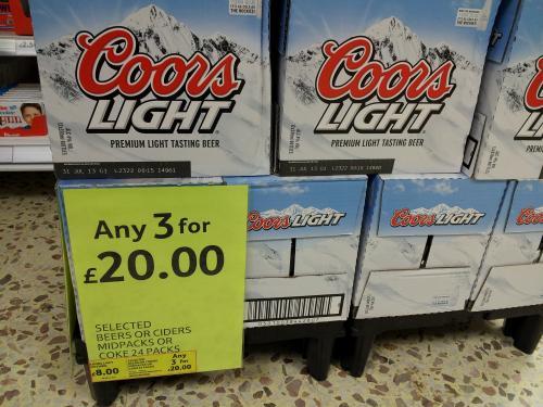coors light deals