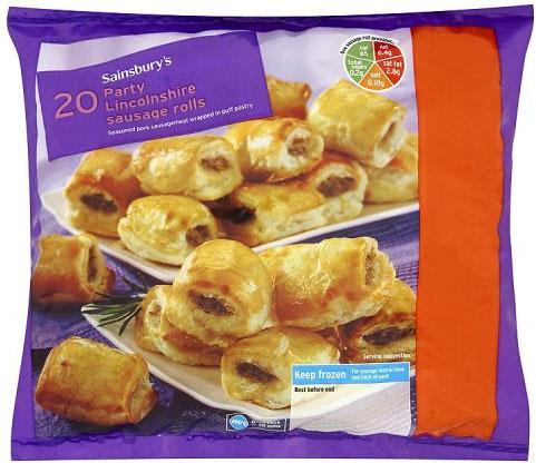 Sainsbury S Frozen Party Food