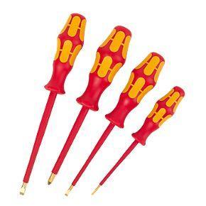 wera vde 1000v screwdriver set 4pcs screwfix hotukdeals. Black Bedroom Furniture Sets. Home Design Ideas