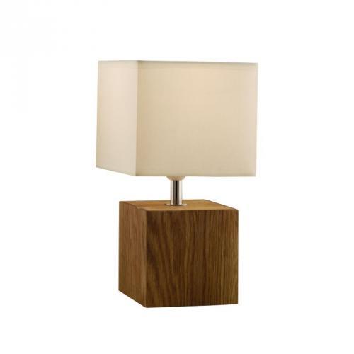 asda light wood square table lamp for asda direct instore also in black hotukdeals. Black Bedroom Furniture Sets. Home Design Ideas