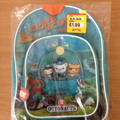 Best Octonauts Toys Kids : Kids octonauts rucksack £ smyths toys instore
