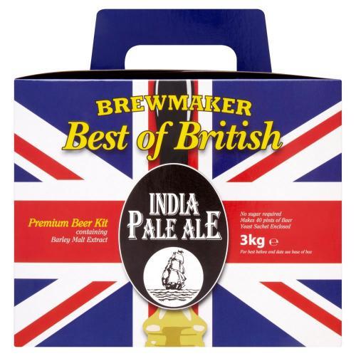 brewmaker best of british india pale ale beer kit 3kg. Black Bedroom Furniture Sets. Home Design Ideas